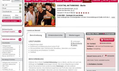 Cocktailkurs Cocktailaktivmixing Berlin